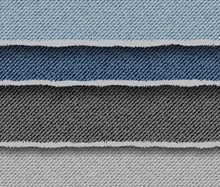 Abstract Denim Striped Backgro...
