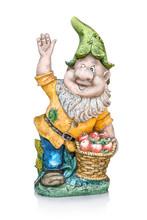 Gesso Garden Dwarf. Cheering U...