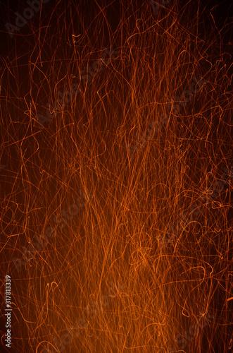 Photo Tison de feu