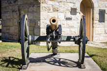 Civil War Era Cannon In San An...