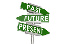 Past Future And Present Word O...