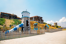 Colorful Playground In Nesseba...