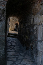 View Through An Arched Passage...