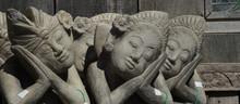 Garden Statues Praying
