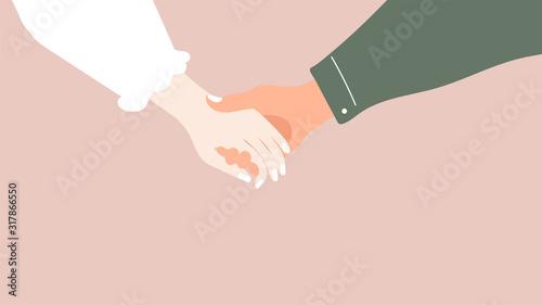 Concept of love Canvas Print