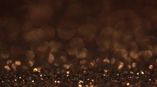 Brown Bokeh Holiday Background...