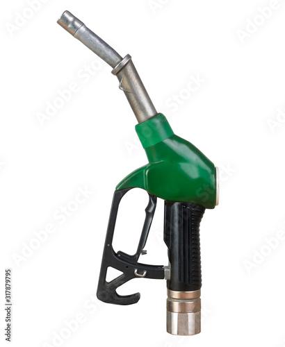 Pompa di benzina - isolata Wallpaper Mural