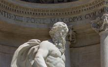 Fountain De Trevi Sculptures C...