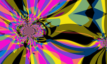 Colorful Abstract Decoration T...