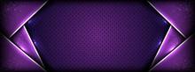 Abstract Premium Dark Purple W...