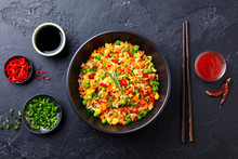 Asian Fried Rice With Egg And ...