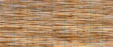 Natural Background In Wicker Canisse