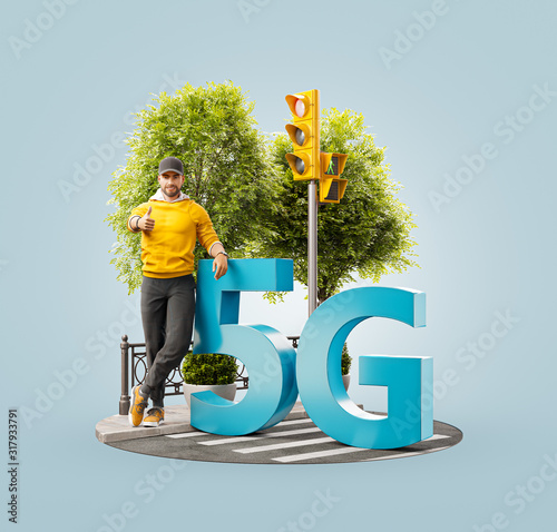 5G network wireless systems. #317933791
