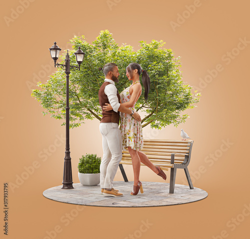 Romantic relationship and family concept #317933795