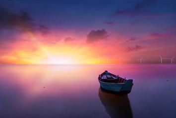 Fototapeta Wschód / zachód słońca Dream Sunset in Wales