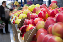 Apples At Marketplace