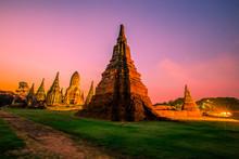 Background Of Wat Chai Watthan...