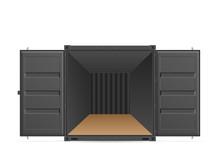 Open Shipping Cargo Container