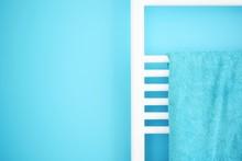 CLOSE-UP OF Towel Rack
