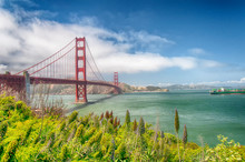San Francisco California Golden Gate Bridge Daytime