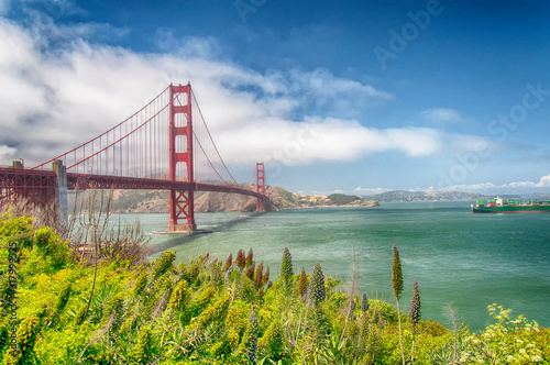 фотография San Francisco California Golden Gate bridge daytime