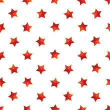 Red Stars With Golden Borders ...