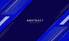 Abstract Blue Sport Background...