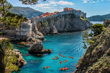 Dubrovnik West Harbor And The ...