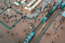 Top View Of Ban Jelacic Square...