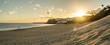 canvas print picture - Abendstimmung bei Morro Jable auf Fuerteventura