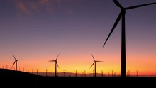 Wind Turbines In Southern Cali...