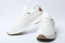 Men's Sneakers On White Background. Men's Footwear.