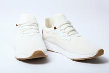 Men's Sneakers On White Backgr...