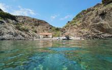 Mediterranean Sea, Small Rocky...