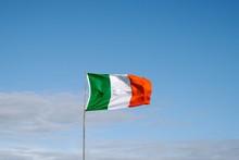 Low Angle View Of Flag Waving ...