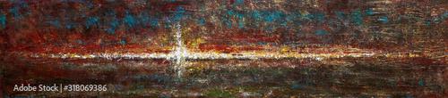 Tablou Canvas Paysage lumière foi