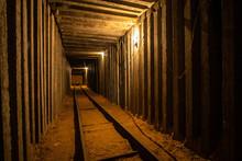 Empty Underground Square Tunne...