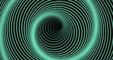 Lines revolving in the pattern of a spiral