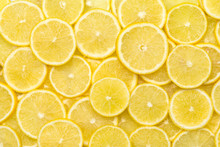 Fresh Lemon Slices Pattern Bac...