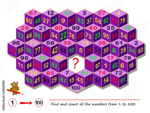 Logic puzzle game for smartest Canvas Print