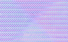 Abstract Gradient Blue, Pink And Purple Rectangle Background; Herringbone Pattern Structure 3d Rendering, 3d Illustration