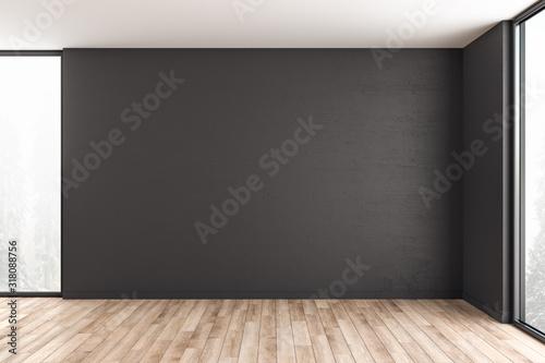 Fotografia Minimalistic interior room