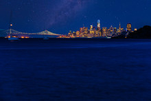 Night Time Over San Francisco ...