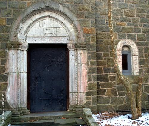 Mid-Evil Castle Replica, Gloucester MA Fototapet