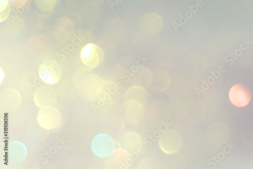 Fototapeta purple and yellow pastel blur abstract background from nature with abstract blurred foliage and bright summer obraz na płótnie