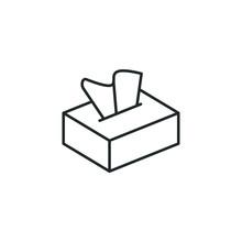 Tissue Box Icon Template Color...