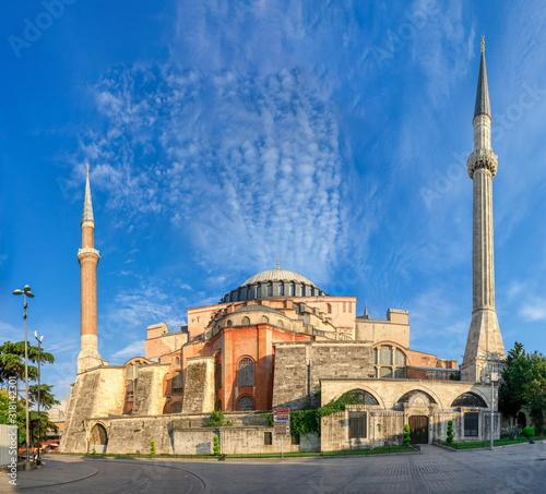 Hagia Sophia museum in Istanbul, Turkey Fototapeta