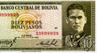 Leinwanddruck Bild - Busch Becerra, portrait from Bolivia 10 Pesos 1962 banknote. An Old paper banknote, vintage retro. Famous ancient Banknotes. Bolivia money. Bolivia  Banknote. Collection.