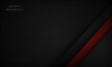 Dark Background. Black And Red...