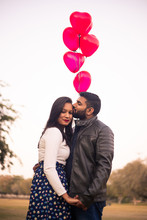 Young Indian Asian Couple Outd...